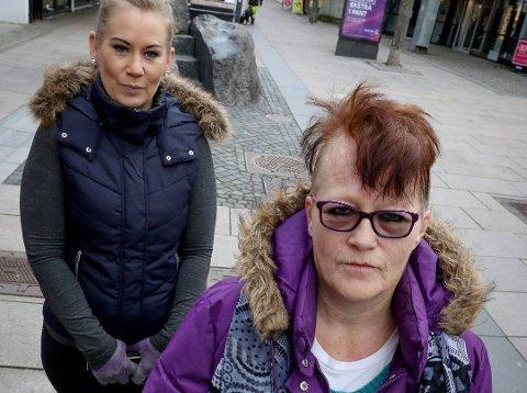 Liv Karin Jenssen ønsket seg bare en litt «shabby chic» frisyre, men slik skulle det ikke gå. Datteren heter Jannette Anderson. (Foto: Terje Holm)