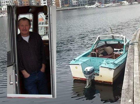 Halvard Velde (innfelt) hadde serieovergrepsdømt rømling buandei hamna sii i tre dagar.