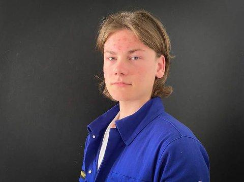 Russ: Fredrik Undem forteller at russen tar ansvar etter helgens hendelse.
