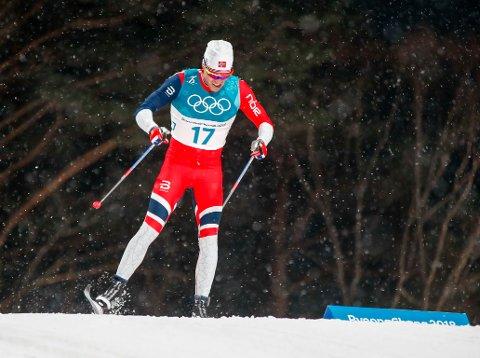 Pyeongchang , Sør-Korea 20180213. Pål Golberg på sprinten i Alpensia Cross-Country Skiing Centre under vinter-OL i Pyeongchang.  Foto: Terje Pedersen / NTB scanpix