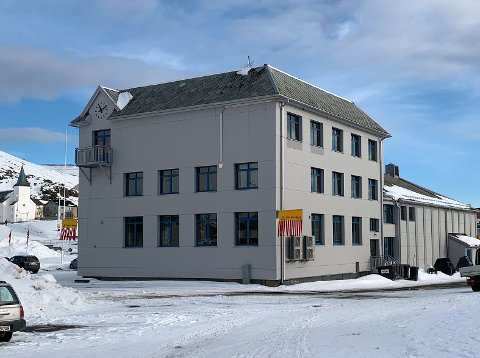 Rådhuset i Nordkapp.