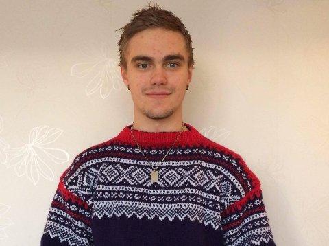 Kristian Tonheim utdannar seg til industrimekanikar og skal delta i NM i yrkesfag i Bergen kommande veke.