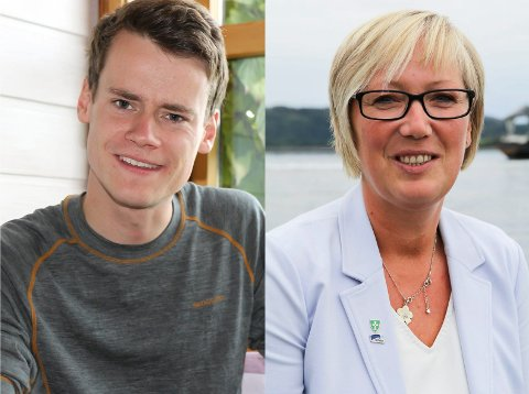Tore Storhaug og Frida Melvær