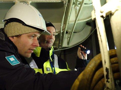 INSPEKTØRAR: I løpet av oktober månad blei det gjennomført 87 tilsyn på skip i Norge og på norskregistrerte skip i utlandet.
