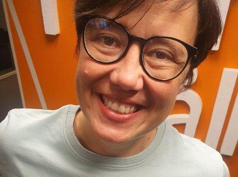 DEN EINASTE: Hege Lothe (48) er den einaste kvinna av dei ni kandidatane du kan stemme inn frå Sogn og Fjordane til hausten.