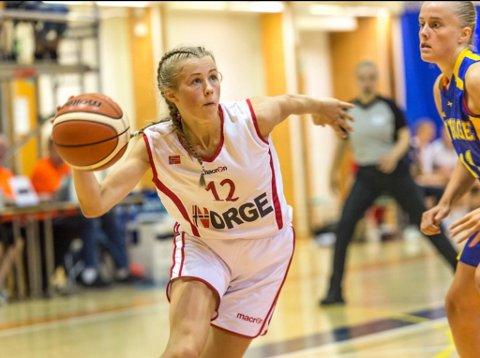 SERIEMEISTER: Denne sesongen blei Hanne Løkkebø Nybø seiremeirster med laget Ulriken Eagles i Bergen.