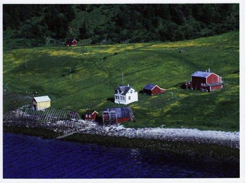 Løvli gård, der Alfred Lockertsen hjalp Baalsrud.