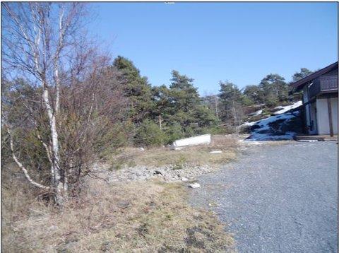 I dette området ved Tømmerlia på Asmaløy er det snakk om å forvandle et friluftsområde til hytteparkering.