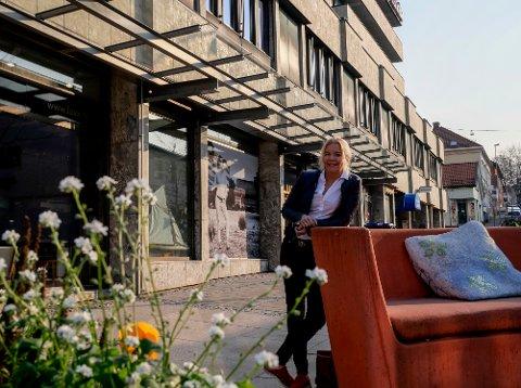 – Jeg blir nesten skjelven av forventning når det går mot vår, sier Line Jeppesen, sentrumsleder i Fredrikstad næringsforening.