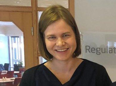 NY I STYRET: Liina Veerme (37) er konsernsjef i Salten Kraftsamband. Nå er hun valgt inn som nytt styremedlem i Polar Kraft AS.