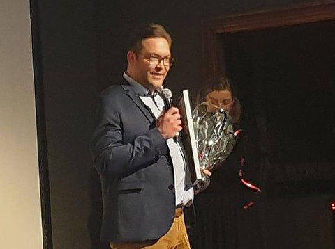 VANT: Kuraas AS vant prisen for Årets markesfører.