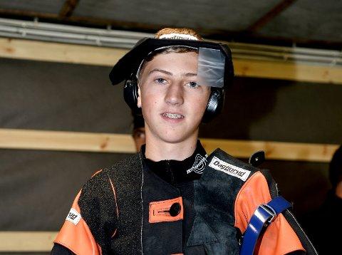 Sander Harildstad, Lismarken, vant juniorklassen med 349 poeng.