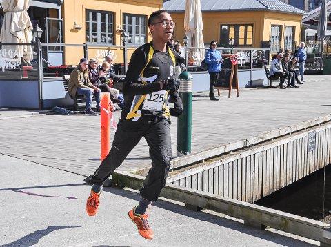 VANT: Amaru Wijman var raskest av alle i Monolittløpet 2017.