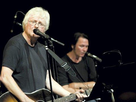 I KVELD: Låtskriverlegenden Chip Taylor og Norges store stemme Paal Flaata – sammen på Bryggerhuset lørdag kommende kl. 22:00.