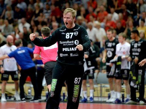 SUPERMÅLVAKT: Morten Nergaard har vunnet alt som vinnes kan med Elverum. Nå er han svært nær en overgang til Halden.
