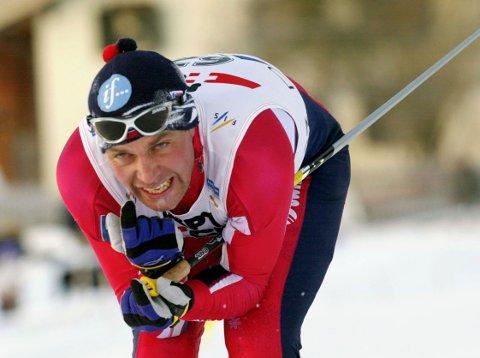 HARDHAUS: Erling Jevne hadde Gåsbu-testrekorden i 14 år.