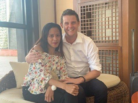 AVSTANDSFORHOLD: På ferie på Filippinene møtte Flemming Lothe (36) sitt livs kjærlighet, Deysi Greys.