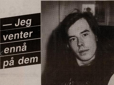 PERSONLIG INTERVJU: Kimme Utsi ble intervjuet av Finnmark Dagblad ett år etter ulykken. Her fortalte han om at han fortsatt venter på de andre bandmedlemmene. Faksimile