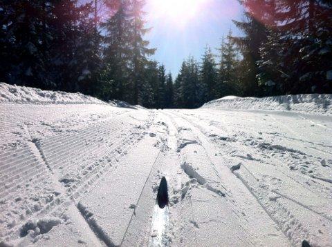Det blir varmere om dagen, men kaldere om natta slik at skiføret nok er best på morgenkvisten.