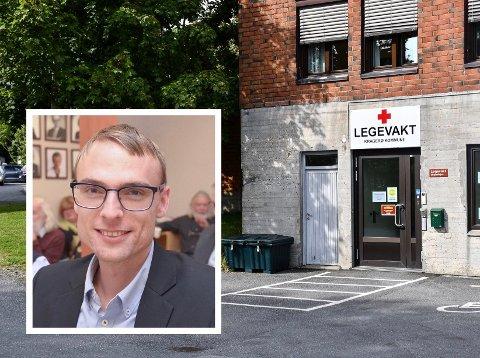 VIL SAMARBEIDE: Kristian Ljåstad, leder for Kragerø Hlyre, forteller at de er positive til felles legevakt, men at de vil ha mer fakta på bordet før de tar et endelig standpunkt.