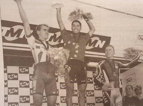 Høydepunktet: I 1999 ble Håkon Austad europamester i terrengsykling i Portugal i U 23-klassen. Senere samme år startet marerittet for gutten fra Linneslia.