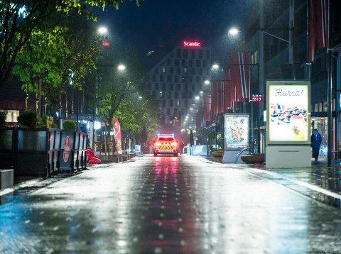 Får ikke være her i helgene: Mannen i 30-årene fra Romerike har oppholdsforbud i Lillestrøm i helgene i seks måneder.