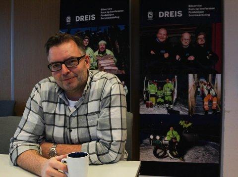 VANT AKTIVPRISEN: Terje Johansen er avdelingsleder for DREIS.