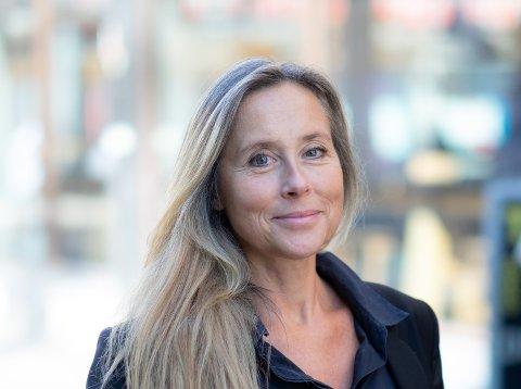 NY JOBB: Sissel Engblom skal begynne i en ny jobb som administrerende direktør.