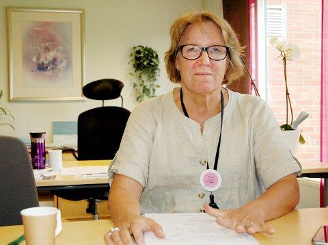 Administrende direktør, Alice Beathe Andersgaard, ønsker ikke at Sykehuset Innlandet skal gi mer detaljer om pasienter som er innlagt på sykehusene i Innlandet. Foto: Kjell Haugerud