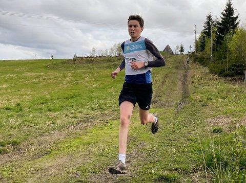 Mathias Hoelsveen var raskeste på fem kilometer i Karidalen.