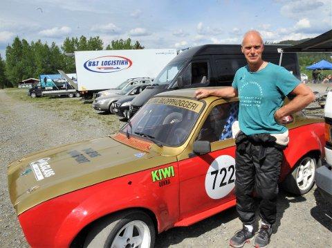 COMEBACK: Arnfinn Bergseng bruker rallycross som mental terapi etter å ha fått kreftdiagnose.