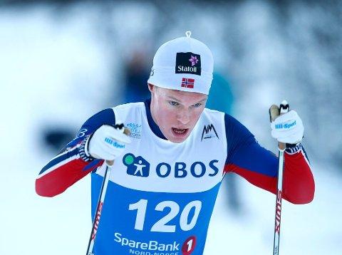 OPPTUR: Martin Løwstrøm Nyenget leverte en godkjent sprint på Beitostølen.