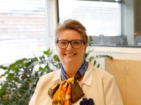 KAN AVVIKLES: Ordføreren i Nordre Follo, Hanne Opdan, mener smittetallene i kommunen viser at lokal forskrift ikke lenger er nødvendig.