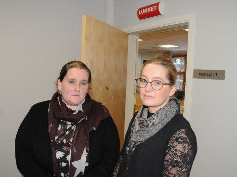 VITNEFORKLARINGER: Hovedvernombud Gro Eva Rotbakken og hovedtillitsvalgt Gunn Eli Rønningen i Norsk Sykepleierforbund.