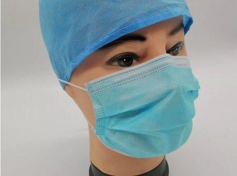 ETTERTRAKTET: Årnes-firmaet har merket at det er kamp om denne typen munnbind.