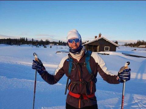 GLAD I SKI: Per Meinich (31) fra Rena har gått Birken siden han var 18 år, men det var først som 25-åring han bestemte seg for å satse skikkelig. Han la en femårsplan, men bare dager før den skulle kulminere med start i pulje to i BIrken, ble alt avlyst.