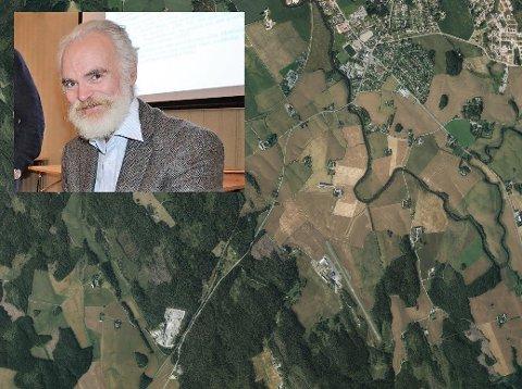 EKSPERT: Stedsnavnprofessor Tom Schmidt lar seg begeistre av navn fra Rakkestad.