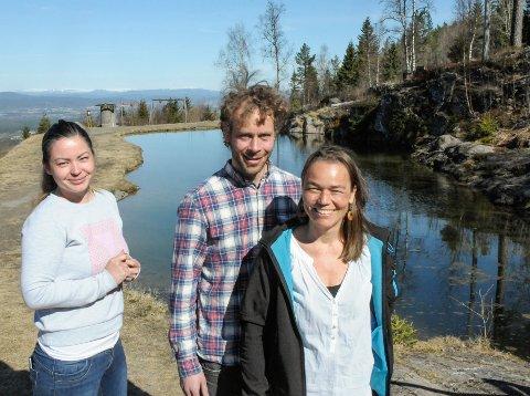 Våt utfordring: Ringerike kommune bruker samlingene til Innovasjonsløft til å finne løsninger på overvannet som oppstår spesielt i sentrum av Hønefoss ved mye nedbør.