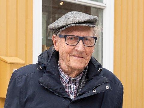 AKTIV: Anders Løchen Fogth (87) var innom sin tidligere arbeidsplass hver eneste dag frem til han døde.