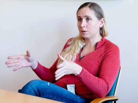 """PLANSJEF: Berit Adriansen i Gjerdrum kommune får bistand fra tre konsulentfirmaer i prosjektet """"Veien videre""""."""