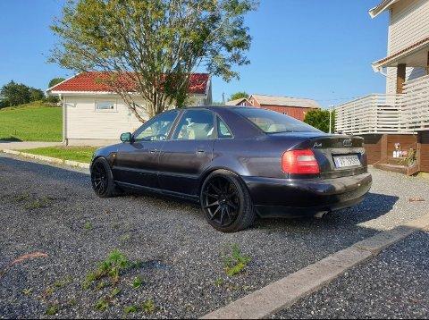 TATT: Dette er bilen som lørdag morgen ble stjålet fra Hafslund industripark.