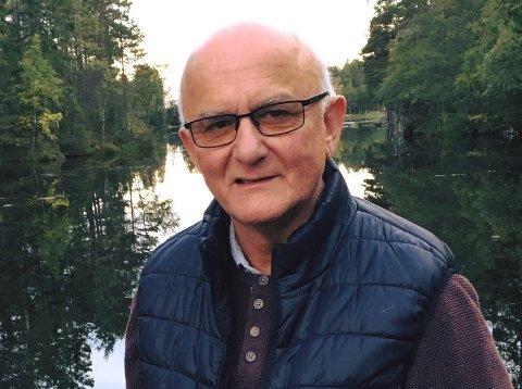 NYTER NATUROPPLEVELSENE: Aril Skjæringrud sier han nyter dagene som pensjonist.