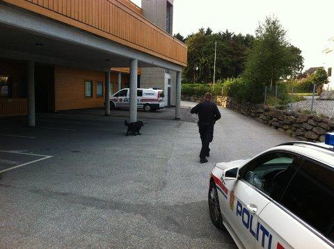 Det siste ranet skjedde i Rådhusvegen klokka 20.10.