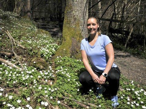 Superslanker: Liza Støa fra Bø har gått ned 70 kilo i løpet av to år. Daglige oppdateringer på bildedelingstjenesten Instagram, forplikter og holder henne på den smale vektsti.