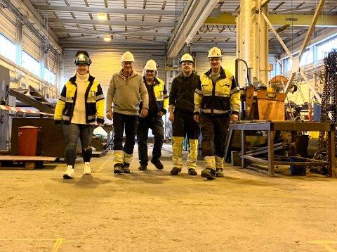 STORKONTRAKT: Trosvik Industri AS har inngått storkontakt med Eramet Norway AS. Her fra verkstedhallen i Lundedalen.