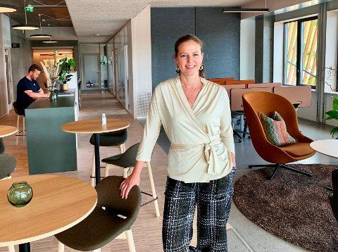 UKJENT: At kommunen skal ha vært misfornøyd med Vekst i Grenland har ikke jeg fått signaler om, sier styreleder Yvonne Aasbø.