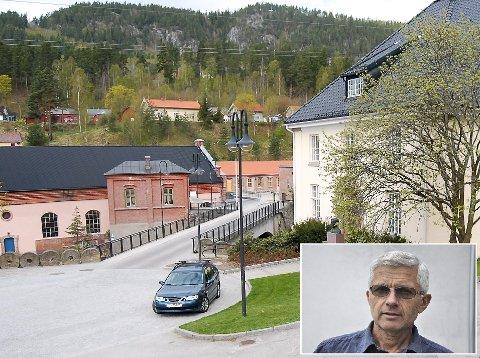 SIER NEI: Administrasjonssjef hos Tinfos, Øyvind Odden, er redd han må skuffe alle som håpet å ta snarveien over Tinfos i høst.