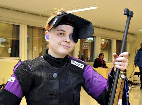 Karen Snekvik er fylkets beste i eldre junior innendørs.