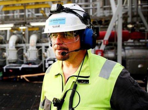 Inge Mellemseter fra Sunndal var med da Njord ble satt i produksjon i 1997. Nå er han tilbake som plattformsjef.