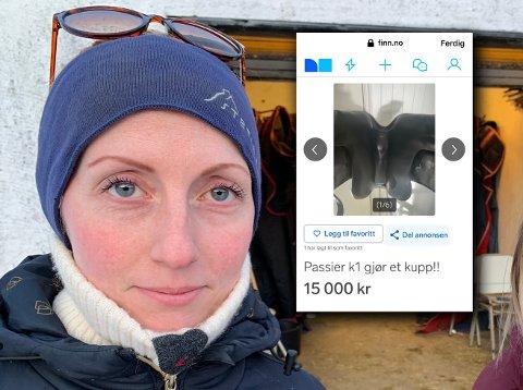 – Min stjålne sal ble oppdaget til salgs på finn.no på torsdag., forteller Inga Sofie Neerland Walseth.